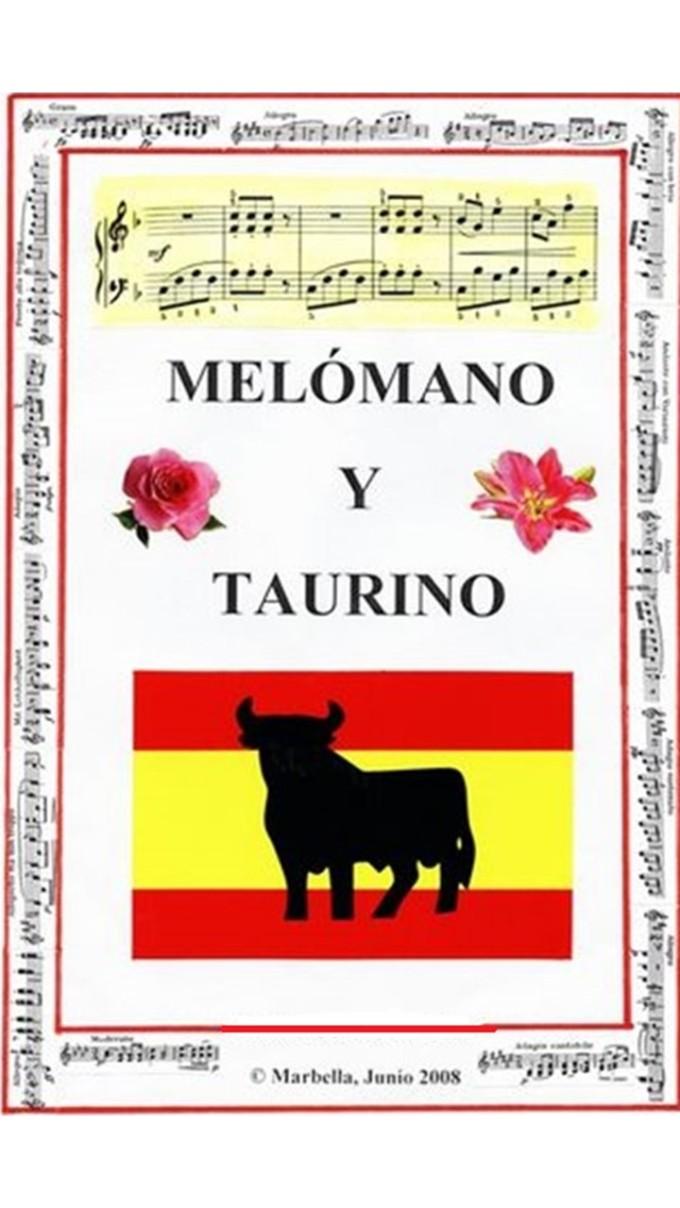 Portada Melómano y taurino
