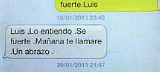 Luis sé fuerte