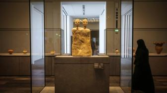 Estatua de dos cabezas