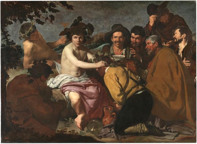 1 Los borrachos Goya