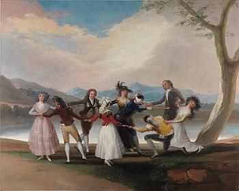2 La gallina ciega Goya