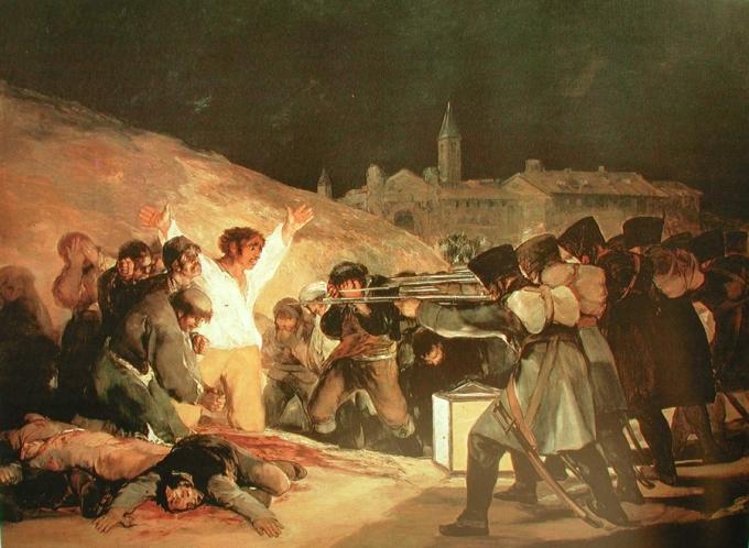 4 Fusilamientos 2 de mayo Goya
