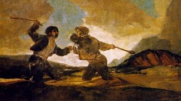 7 Duelo a garrotazos Goya