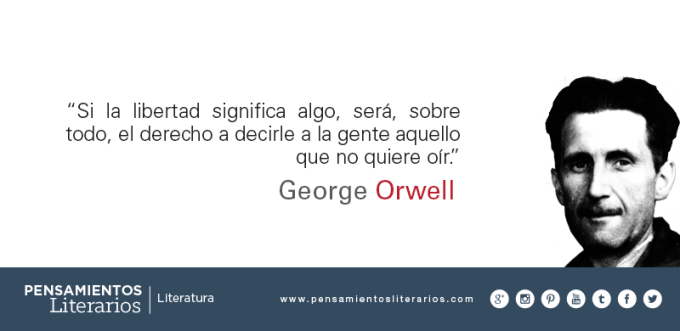 Image result for orwell libertad
