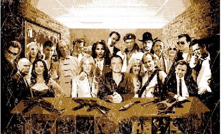 Once Personajes de Tarantino 2