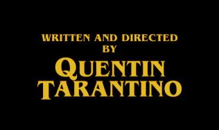 Written Tarantino 1
