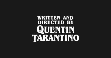 Written Tarantino 2