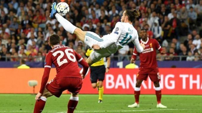 Gareth Bale chilena Kiev