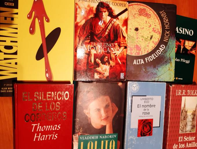 Libros-películas 1
