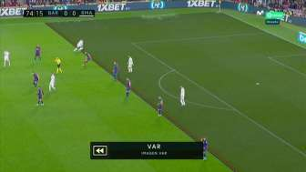 VAR anulado Real Madrid