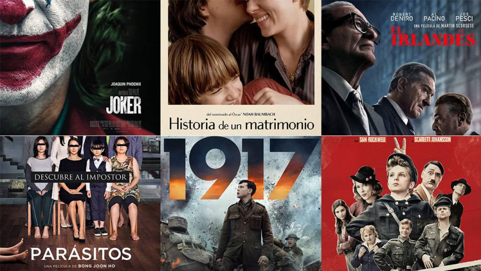 Películas Óscar 2020