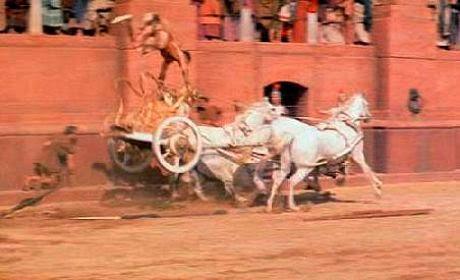 Documentalium: El rodaje de la carrera de cuadrigas de Ben-Hur