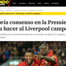 Campeón Liverpool Premier