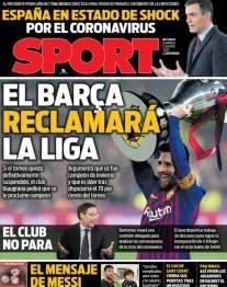 Barça reclamará la liga