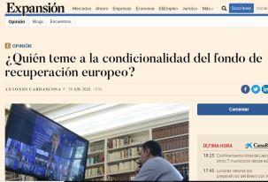 Condicionalidad fondo Europeo