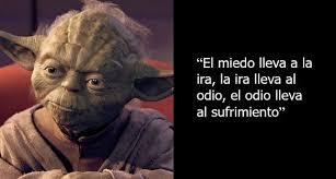 Miedo ira odio Yoda