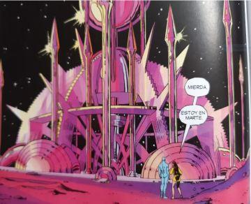 Watchmen Marte Cómic 2