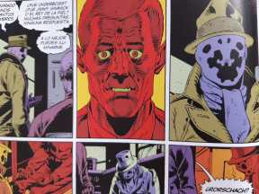 Watchmen Rorschach Cómic