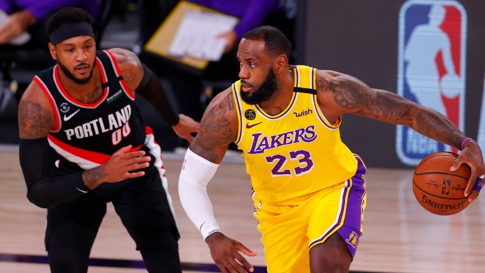 Lakers Portland 2