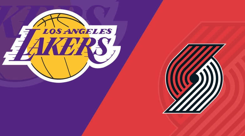 Lakers vs Portland Trail Blazers